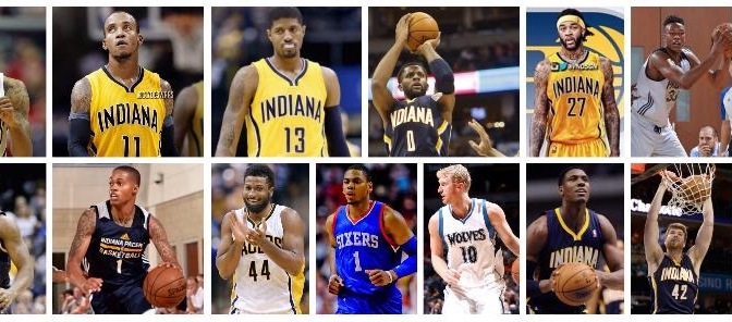 The roster is full: A Quick Overview of the 2015-16 Indiana Pacers.