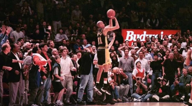 Reggie Miller at the Garden: This Picture Is Worth a Thousand Words #1