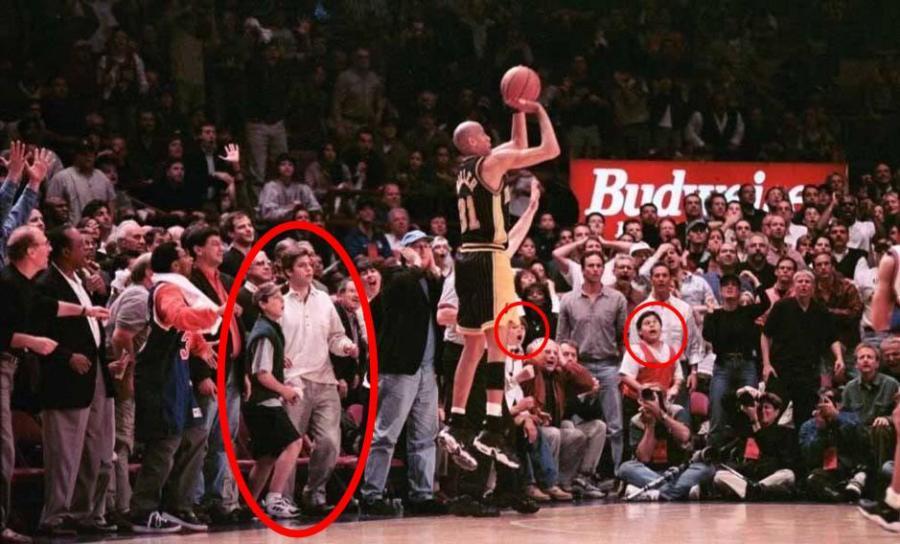 Reggie Miller Knicks fans