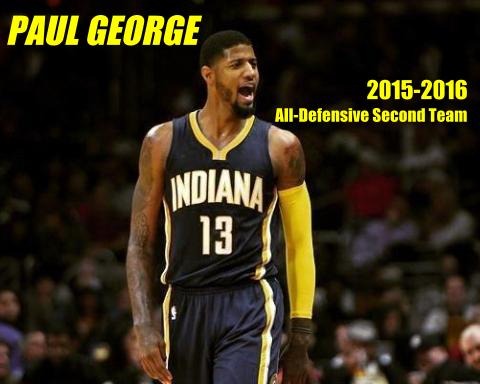 Paul George earns All-Defensive Second Team selection