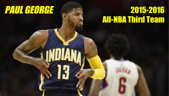 Another day, another honor for Paul George
