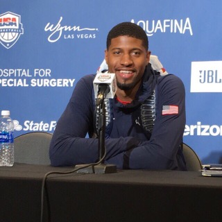 "Coach K: Paul George is ""playing the best basketball of his life"""