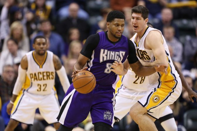 ESPN reports Pacers, Kings have discussed Rudy Gay deal