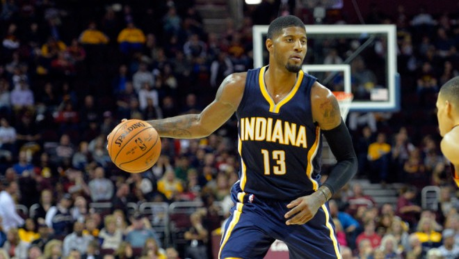 Class act: Paul George sends gift to woman hit in face with ball
