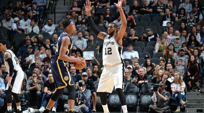Two-Minute Quick-Cap: Pacers at Spurs