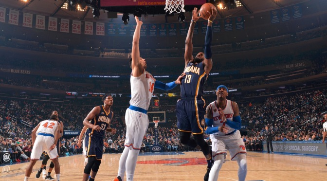 Two-Minute (Two-Ahh) Quick-Cap: Pacers vs. Knicks