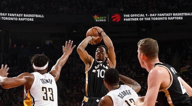 Two-Minute (Two-Ahh) Quick-Cap: Raptors beat Pacers again behind DeRozan's 40 points