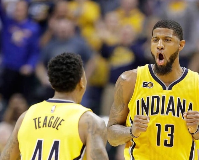 Paul George Named Eastern Conference Player of the Week