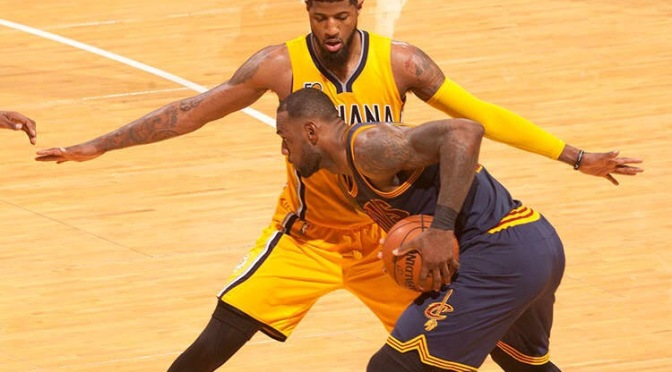 For one playoff game, the Pacers were last year's Warriors, 3-1 lead included