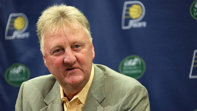 The Vertical: Larry Bird stepping down as Pacers president