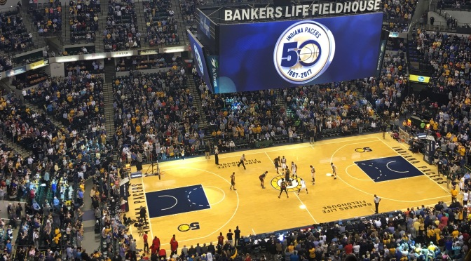 Who starts for the Indiana Pacers in 2017?