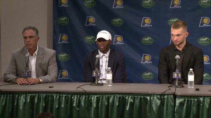 Pacers begin their rebirth and introduce Oladipo, Sabonis and Collison