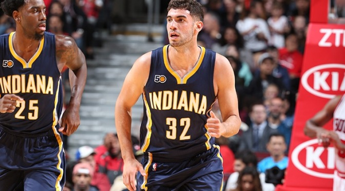 Indiana Pacers waive Georges Niang