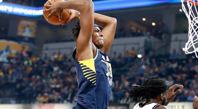 Myles Turner is out for at least the next two games with a concussion