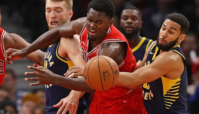 Two-Ahh: Pacers end losing streak with win over Bulls