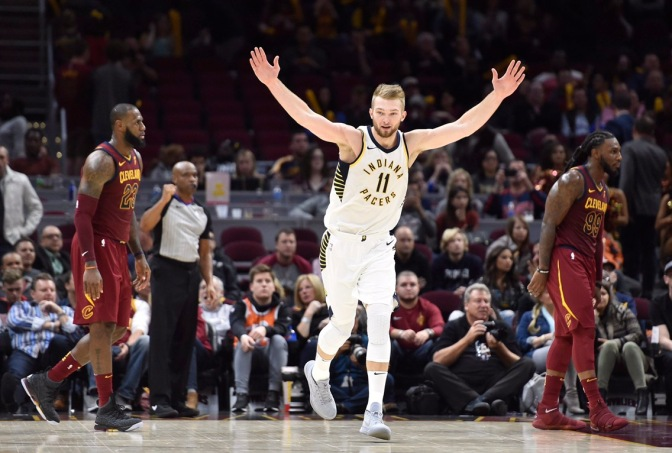 Why everybody loves playing with Domantas Sabonis