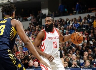 The Indiana Pacers pick-and-roll coverage on James Harden was doomed from the start