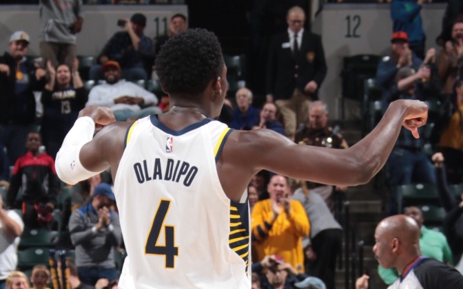 Victor Oladipo currently 3rd in All-Star voting for Eastern Conference guards