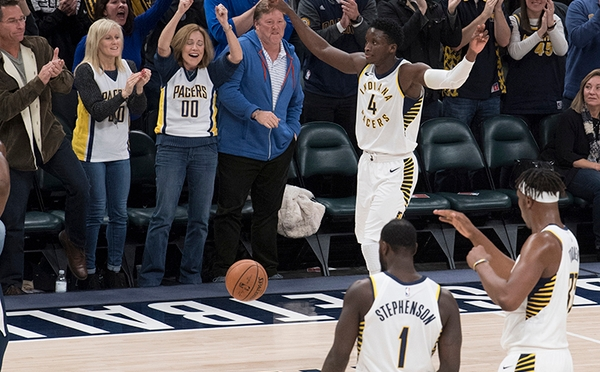 Victor Oladipo defends his city with 47 points in comeback victory