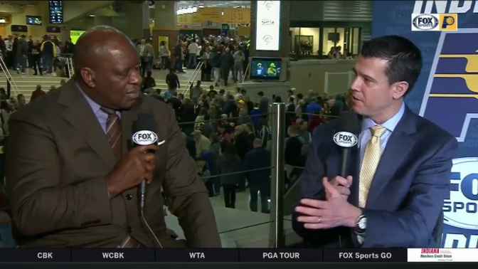 """Indiana Pacers GM: """"We're in no hurry to change up anything with this team"""""""