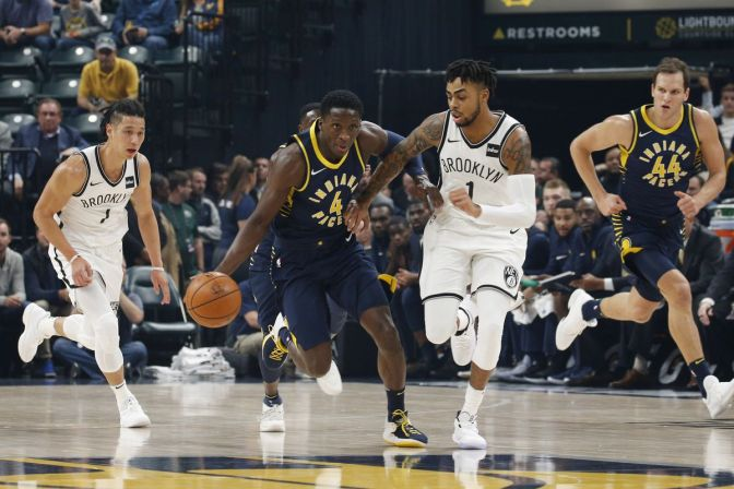 How Victor Oladipo sets the pace for the Pacers