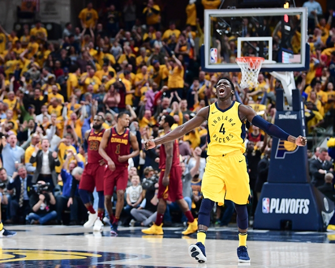 The Pacers might shock the world but they aren't shocking themselves