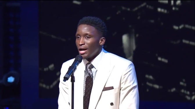 Victor Oladipo sings duet with Charles Barkley, talks Pacers on NBA on TNT