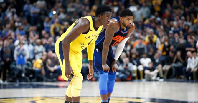 It doesn't matter what Paul George does. The Pacers won the trade.