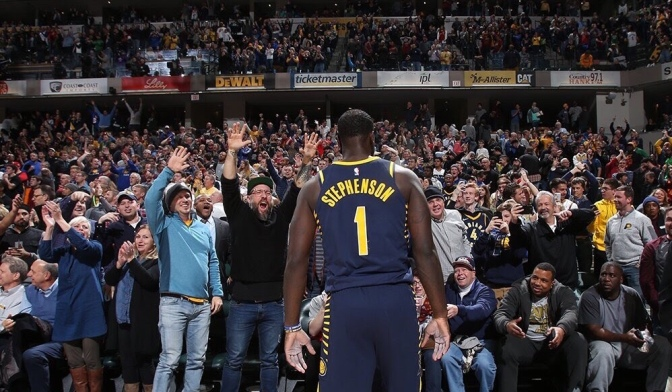 Why Indiana will always love Lance Stephenson: This Picture is Worth A Thousand Words #6