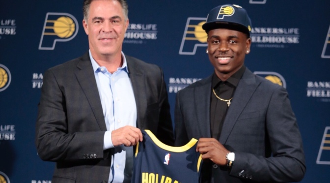 Breaking down the Indiana Pacers first-round pick Aaron Holiday