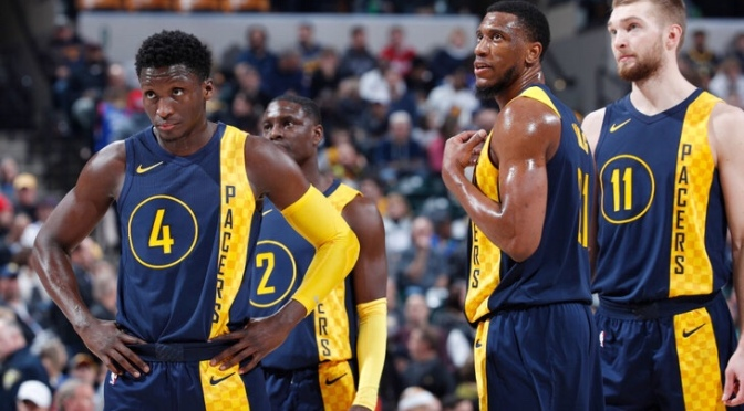 The Indiana Pacers put the depth in Depth Chart
