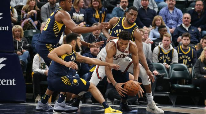 Notes & Numbers: Pacers have been up and down in first four games