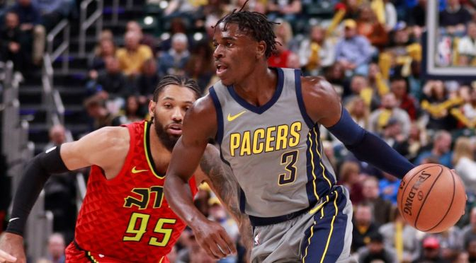 Pacers rookie Aaron Holiday makes his first opportunity count