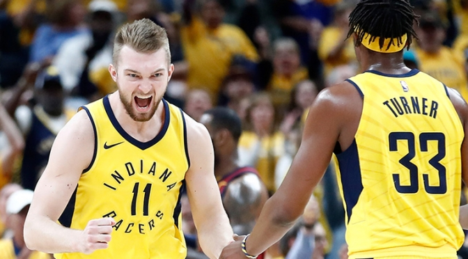 Pairing of Turner and Sabonis the talk of Pacers Media Day