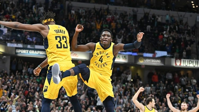 Victor Oladipo reminds everyone that this is his city