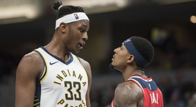 Ponytail Myles: The confident, surprisingly vulgar Pacers two-way monster