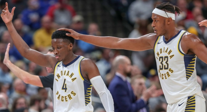 Pacers proving to have Oladipo's back as he returns