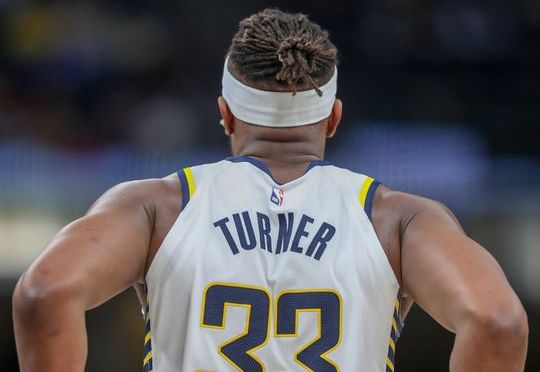 Myles Turner calls All-Defense snub 'blatant disrespect'